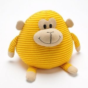 Mushables Pot Bellies Toy Monkey Pillow