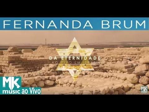 NOVO - Fernanda Brum ao vivo em Israel 2016 - DVD COMPLETO 🎵