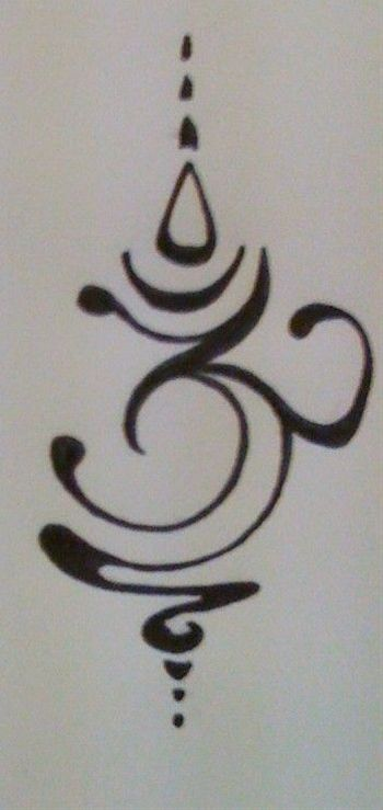 Om tattoo design