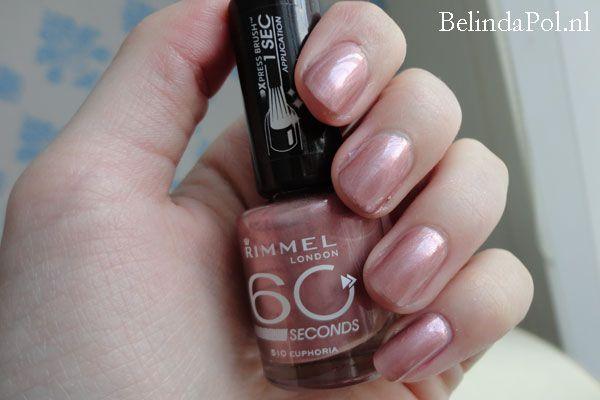 Euphoria rimmel 60 seconds nail polishes i want for Euphoria nail salon