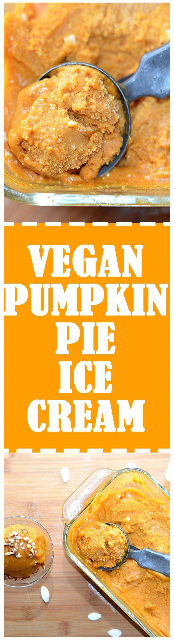 ... Pumpkin Ice Cream is a easy to make and better than eating pumpkin pie