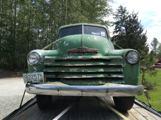 1949 Chevy 3800 Flatbed Truck for sale: photos, technical specifications, description