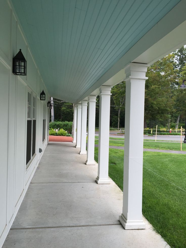 Colonnade Columns Porch Roof Wall Panel Style