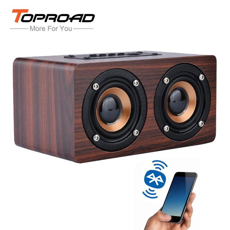 TOPROAD Wooden Wireless Bluetooth Speaker Portable HiFi Shock Bass Altavoz TF caixa de. Support APP: NoOutput Power: OtherSupport Apt-x: NoAudio Crossover: Two-WayIntelligent Personal Assistant: NoneRemote Control: NoSpeaker Structure: SealedPlayback Function: MP3Support Memory Card: YesModel Number: Wireless HiFi Bluetooth SpeakerChannels: 2 (2.0)Cabinet Material: WoodSpeaker Type: PortableFrequency Range: OtherDisplay Screen: NoBrand Name: TOPROADVoice Control: NoBattery: YesWaterproof…
