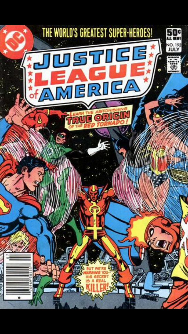 Justice League of America 192 July 1981