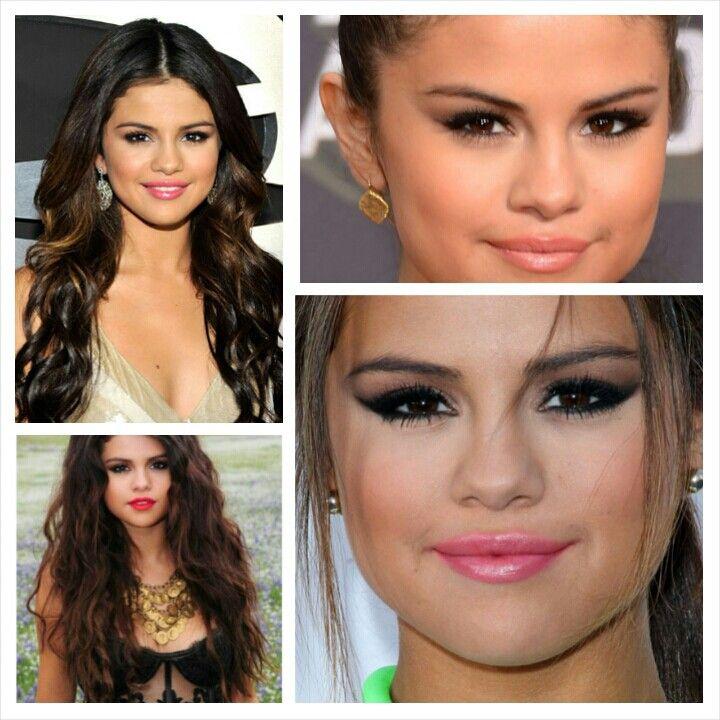 Makeup look Selena Gomez