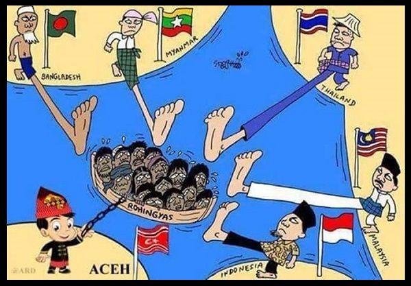 Aceh peduli Rohingya - #Meme - http://www.indomeme.com/meme/aceh-peduli-rohingya/