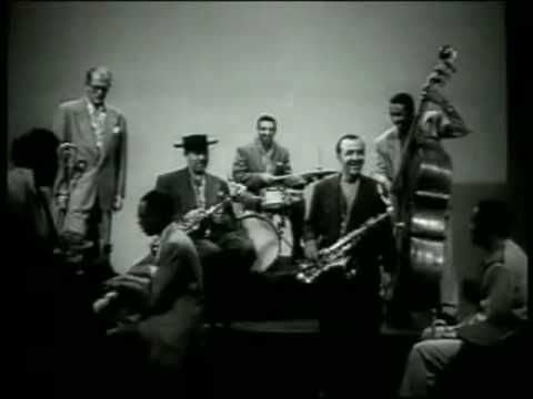 Lester Young - Blues for Greasy (1950). Real hipsters: http://en.wikipedia.org/wiki/Hipster_%281940s_subculture%29