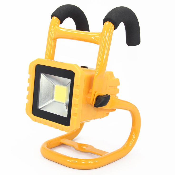 IP65 Waterproof 20W LED Flood Light Outdoor Rechargeable Spotlight Camping Work Lamp Light detachable battery dimmable switch teen girl bedroom