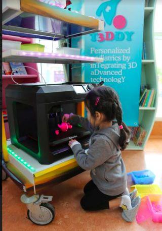 Nasce il Laboratorio T3Ddy e la stampante tridimensionale entra nella pratica clinica del Meyer http://www.saluteh24.com/il_weblog_di_antonio/2016/10/nasce-il-laboratorio-t3ddy-e-la-stampante-tridimensionale-entra-nella-pratica-clinica-del-meyer.html