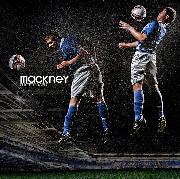 Leicester City football club shoot by mackney