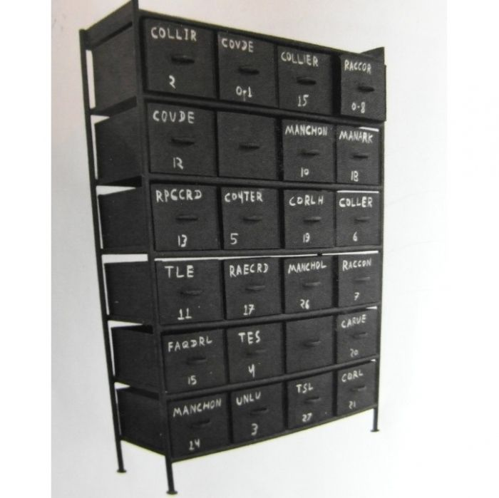 24 Drawer Armoire