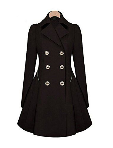 New Trending Formal Dresses: Womens Black Casual Lapel Double-Breasted Trenchcoat Slim Jacket Belted Outwear. Women's Black Casual Lapel Double-Breasted Trenchcoat Slim Jacket Belted Outwear  Special Offer: $27.99  433 Reviews Scottliver Paul trench coat is one of the soft texture,clipping decent,extraordinary quality and colorful that is your go-to Jackets for outdoor...