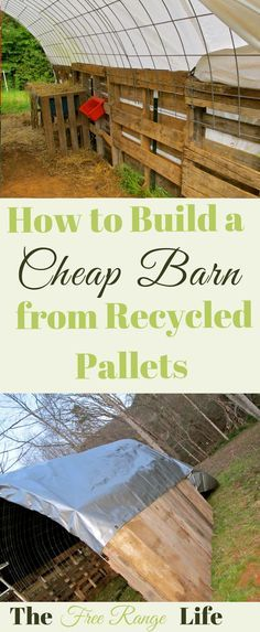 Learn how to make a quick shelter out of pallets! Great for a run-in shed for goats, alpacas or any other farm animal!