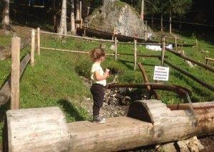 In Val di Fassa con bambini, ecco il parco giochi di Pera!