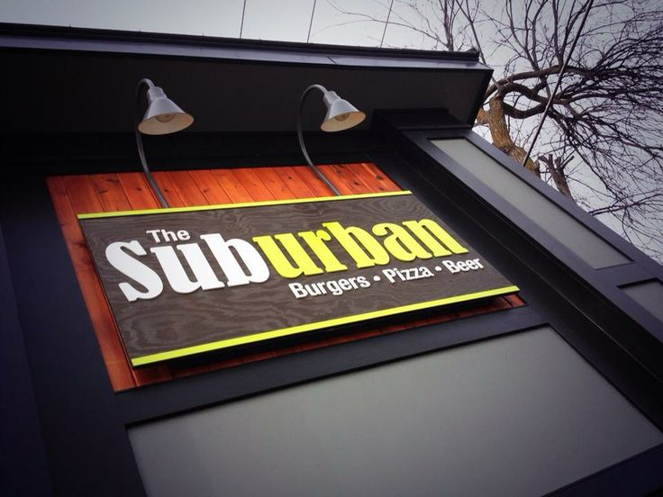 """Coming soon to Excelsior: The Suburban Restaurant. """"Our focus is urban taste, with a suburban location. Gourmet burgers, pizza and hotdogs paired with great local beers!""""  https://www.facebook.com/thesuburbanmn/info"""