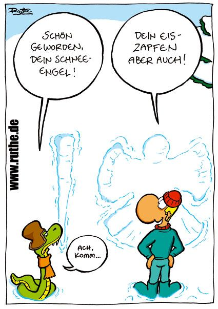 ...Schneeengel...