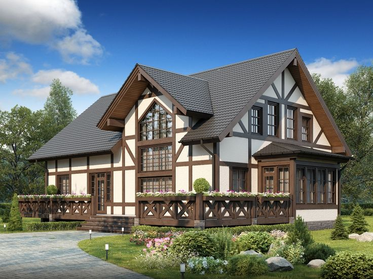Технологія будівництва будинку в стилі фахверк  Будинок мрії!