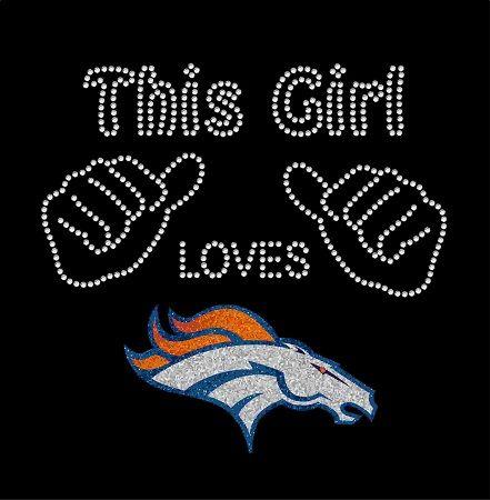 This Girl – Broncos Tee. Love, love, love!