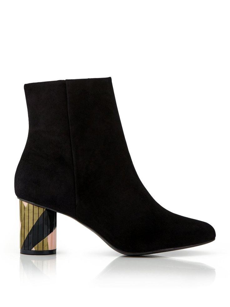 KURT GEIGER LONDON Noble Perspex Heel Ankle Boots -NEW IN!