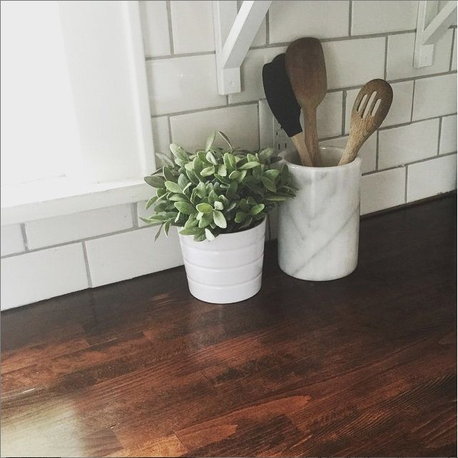 | Butcher Block Countertops, Part I | http://lovethetompkins.com