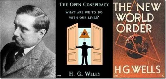 'La Cospirazione Aperta' e 'Il Nuovo Ordine Mondiale' |--------------> Nel 1928 viene pubblicato il libro intitolato The Open Conspiracy (La cospirazione aperta), di Herbert Gordon Wells (1866-1...
