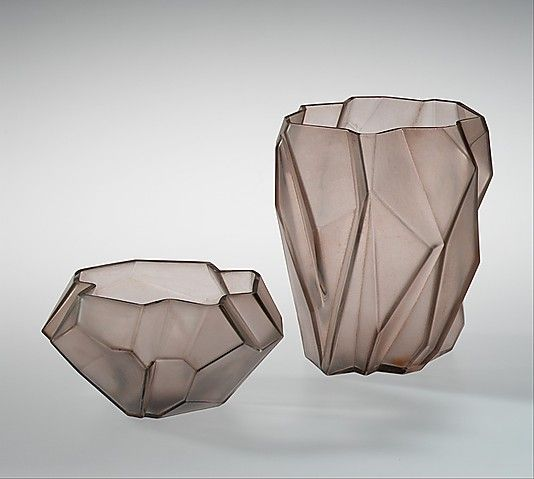 """""""Ruba Rombic"""" Reuben Haley (American, Pittsburgh, Pennsylvania 1872–1933 Beaver, Pennsylvania) Manufacturer: Consolidated Lamp and Glass Co..."""