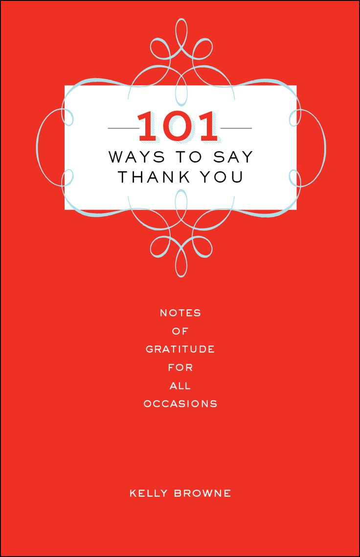 34 best 101 Ways to Say Thank You: Revised April 2015 images on ...