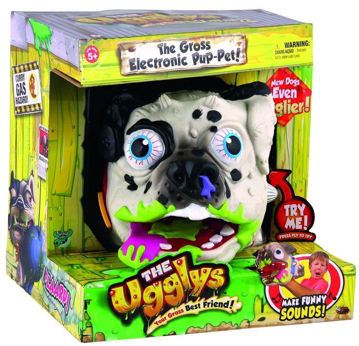 Ugglys Dalmatian Electronic Pet Dog - Безобразная * уродливая собака Далматин - Электронный Питомец - Прикол от Moose Toys