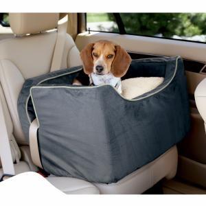 Medium Shearling Safety Dog Car Seat