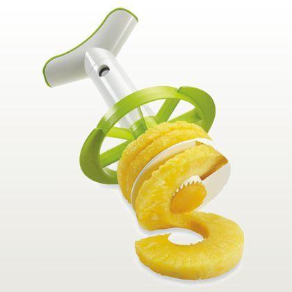 Vacu vin – Pineapple Slicer & Wedger (Descascador e fatiador de abacaxi) :: DESIGN anyware