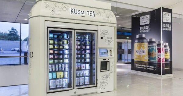 Kusmi Tea lance le KusmiKiosk, son distributeur de thés !