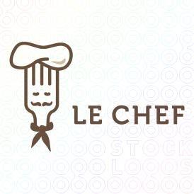 Le chef fork logo