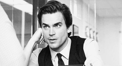 When he turned to you and your world was never the same.   37 Times Matt Bomer Blessed Us All With His Presence