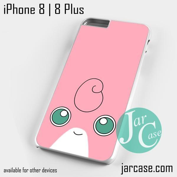 pokemon wigglytuff face Phone case for iPhone 8 | 8 Plus