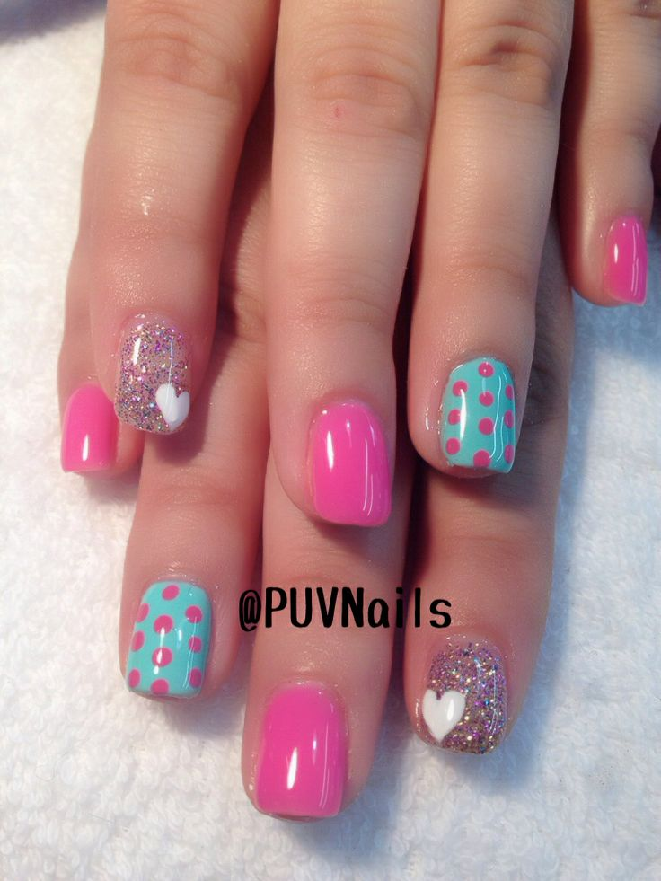229 best images about nail art spring summer on - Cute nail polish designs to do at home ...