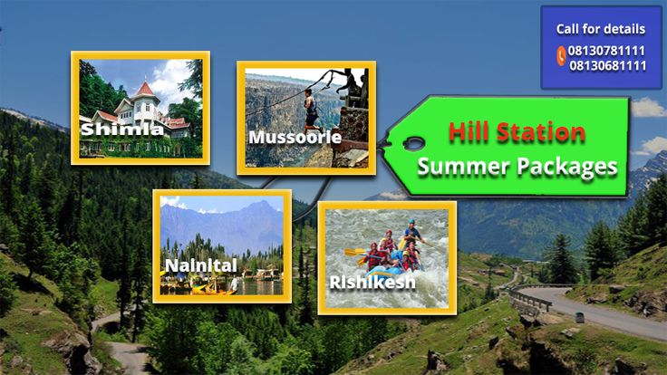 Hill Station places For Your #weekend Holidays Hurry up Book Now #call-08130781111