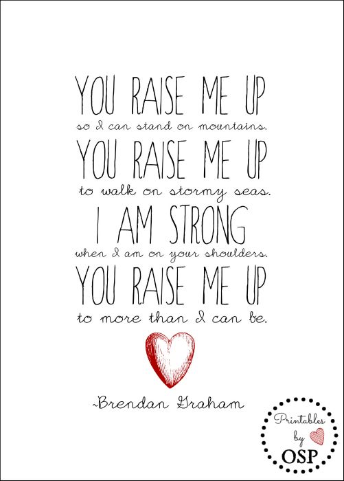 Available for instant download and printing...inspirational words by Brendan Graham.