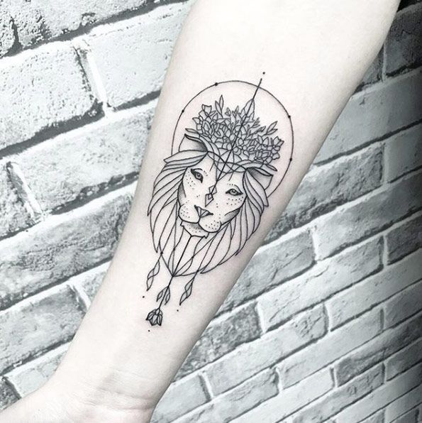 The Best Tattoo Designs For Every Zodiac Sign Tattoos Small Lion Tattoo For Women Leo Tattoo Designs