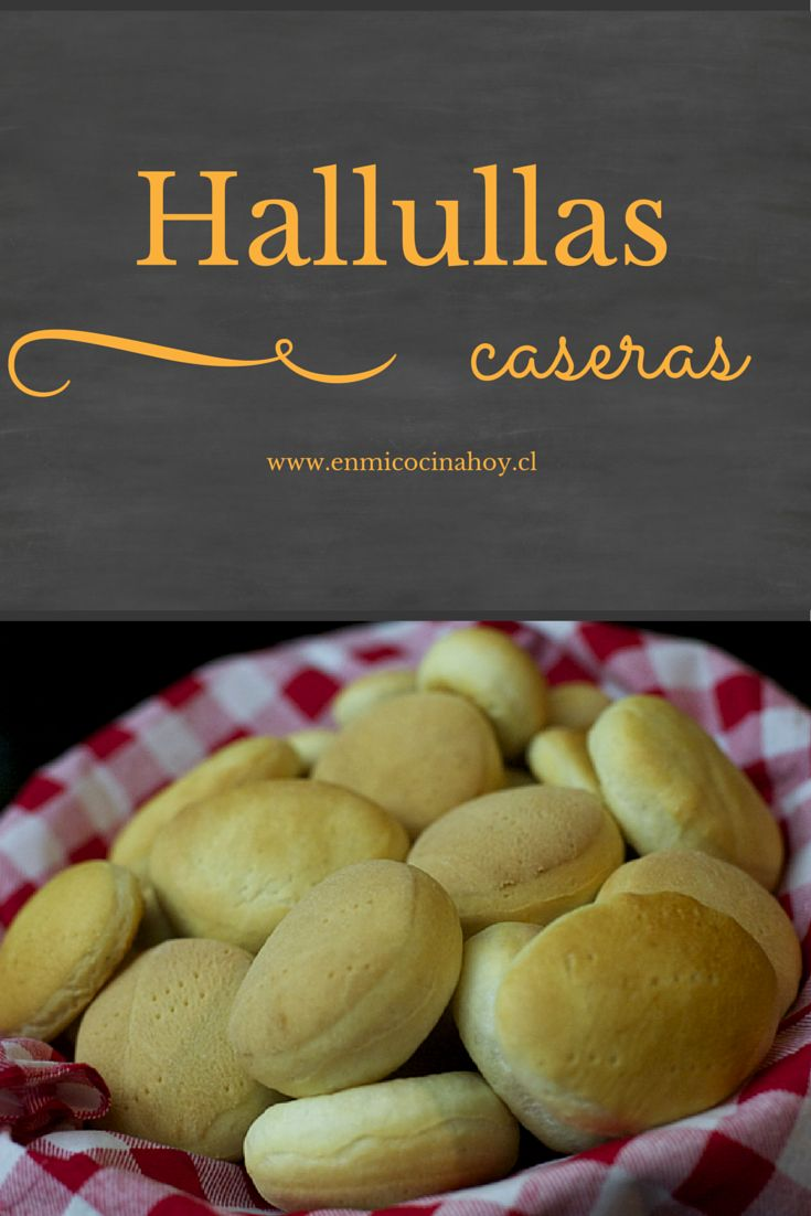 Las hallullas son de los panes más comunes en Chile, junto con la marraqueta…