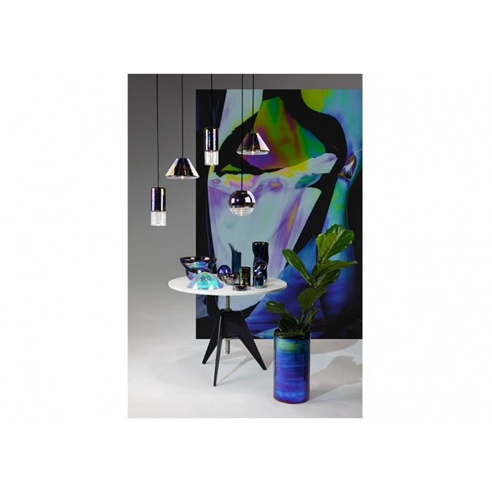 @tomdixonstudio 'Oil' series inspired by the iridescent effect of oil on water
