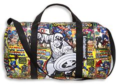 Sign up for Entertainment Weekly subscription and get a free Marvel Comics bag! Cap, Iron Man, Thor duffels, Black Widow tote #marvelcomics
