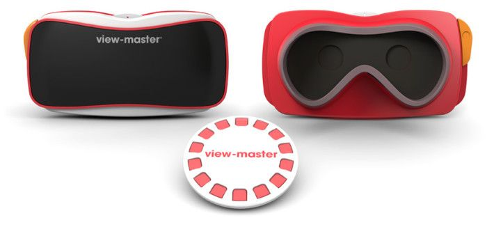 The View-Master was one of the coolest toys back in the day. Small cardboard reels would be placed in the device, giving a 3D look to the images. Essentially, this was the first taste of vr...