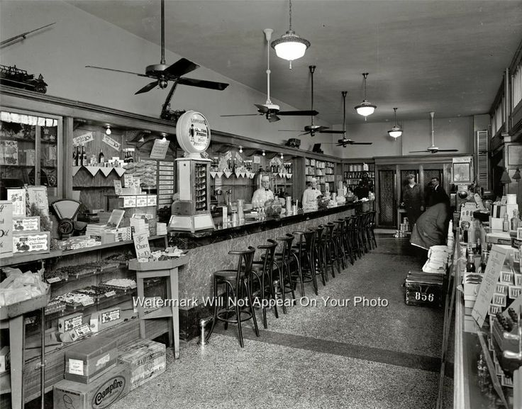14 Best Images About Old Time Soda Fountains On Pinterest