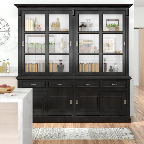 La Provence Standard Display Cabinet Hsm Collection Black Display Cabinet Kitchen Display Cabinet Display Cabinet