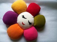 Çiçek+Bebek+Takı+Yastığı