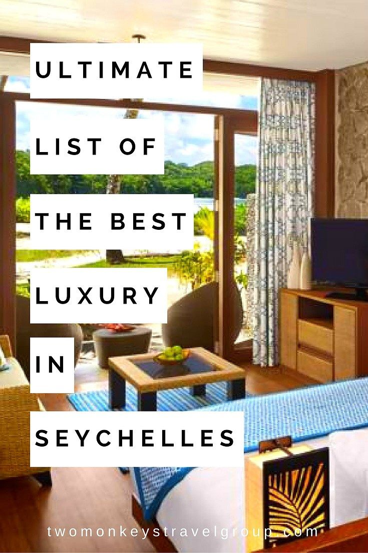 Ultimate List of the Best Luxury Hotels in Seychelles
