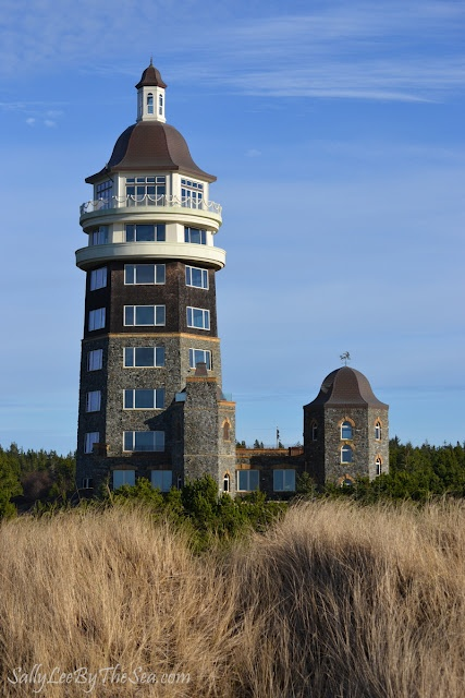 Private lighthouse on the Washington State coastline (Long Beach Peninsula)