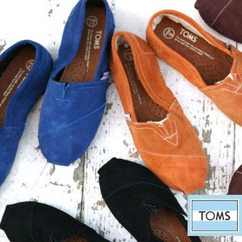★レディーススリップオン スウェード  スエード素材のスリッポンも秋冬の装いにおススメ。ブルー、オレンジ、ブラウン、ブラックの全4色です。