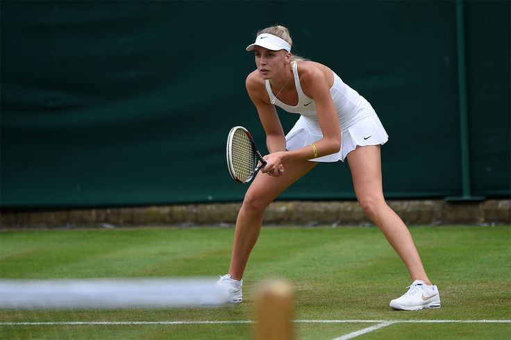 Naomi Broady playing brilliantly at Wimbledon 2014 and looking great